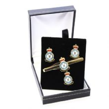 RAF Regiment - Cufflinks, Tie Slide or Boxed Set from